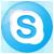 skype logotip